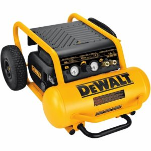 DEWALT D55146 4-1 2-Gallon 225-PSI Hand Carry Compressor with Wheels