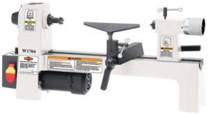 SHOP FOX W1704 1/3 Horsepower Benchtop Lathe