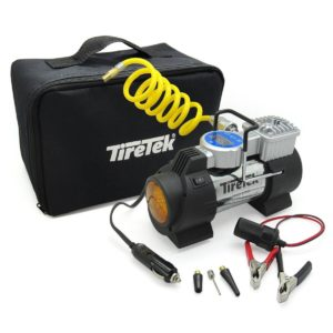 TireTek Power-Pro Portable Tire Inflator Pump 12V Compressor