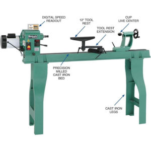 grizzly wood lathe for sale