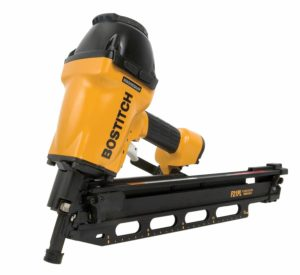 BOSTITCH F21PL Round Head Framing Nailer with Positive Placement Tip and Magnesium Housing