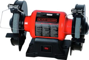 Black+Decker BG1500BD 6 Single Speed Bench Grinder