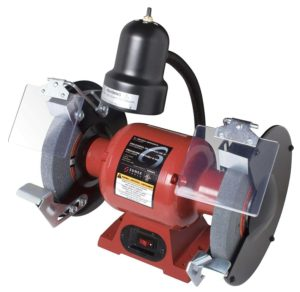 Sunex 5002A Bench Grinder with Light, 8-Inch (1)