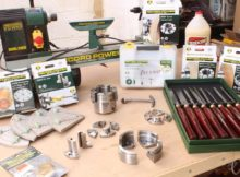 WOODTURNING LATHE & ACCESSORIES