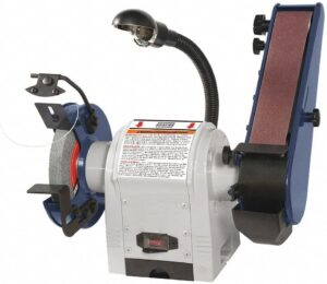 Combination Belt and Bench Grinder